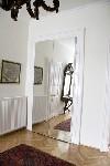 ajtó tükör