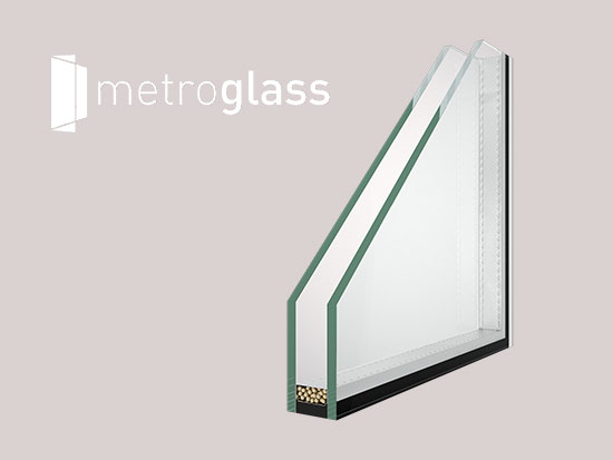 Kétrétegű hőszigetelt üveg